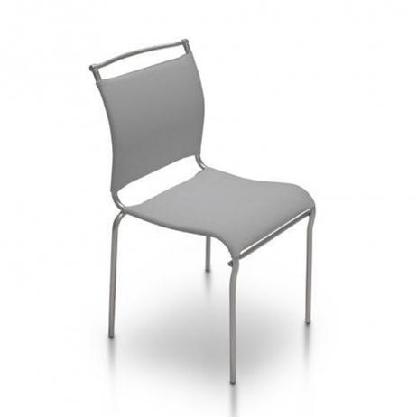 Sedia Air impilabile con struttura in metallo