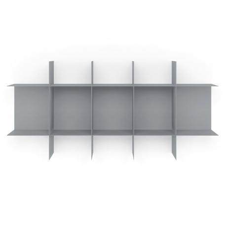 Librerie In Metallo Componibili.Meme Design Libreria Modulare Innesto Componibile In Metallo