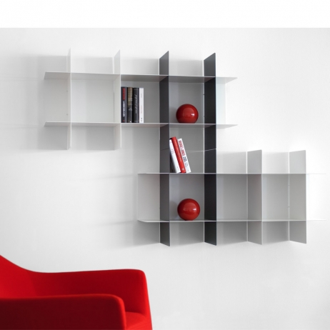 Libreria Metallo Modulare.Libreria Modulare Innesto Componibile In Metallo Fisher Compresi