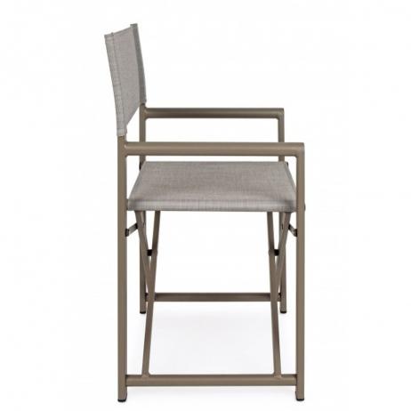 Sedia Da Regista Con Nome.Bizzotto Sedia Regista Taylor In Alluminio Con Seduta E Schienale