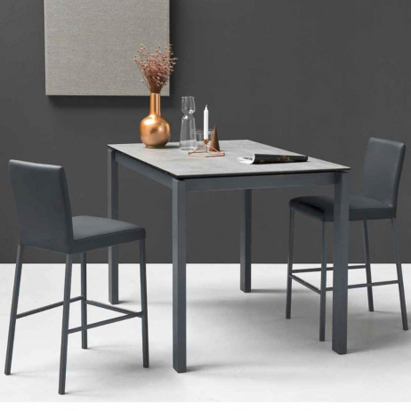 Tavolo Allungabile Vetro Calligaris.Connubia By Calligaris Tavolo Allungabile Baron Counter Con