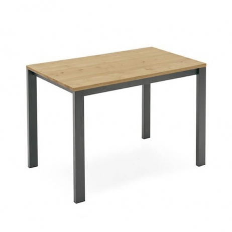 Tavolo allungabile Baron counter con struttura in ceramica e piano in vetro  serigrafato