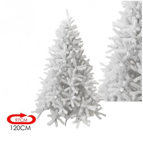 Albero Di Natale 120 Cm.Emporio Grassi Albero Di Natale Bianco 120 Cm O 97 Cm Cod 7000