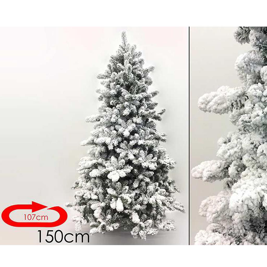 Albero natale innevato 150 cm