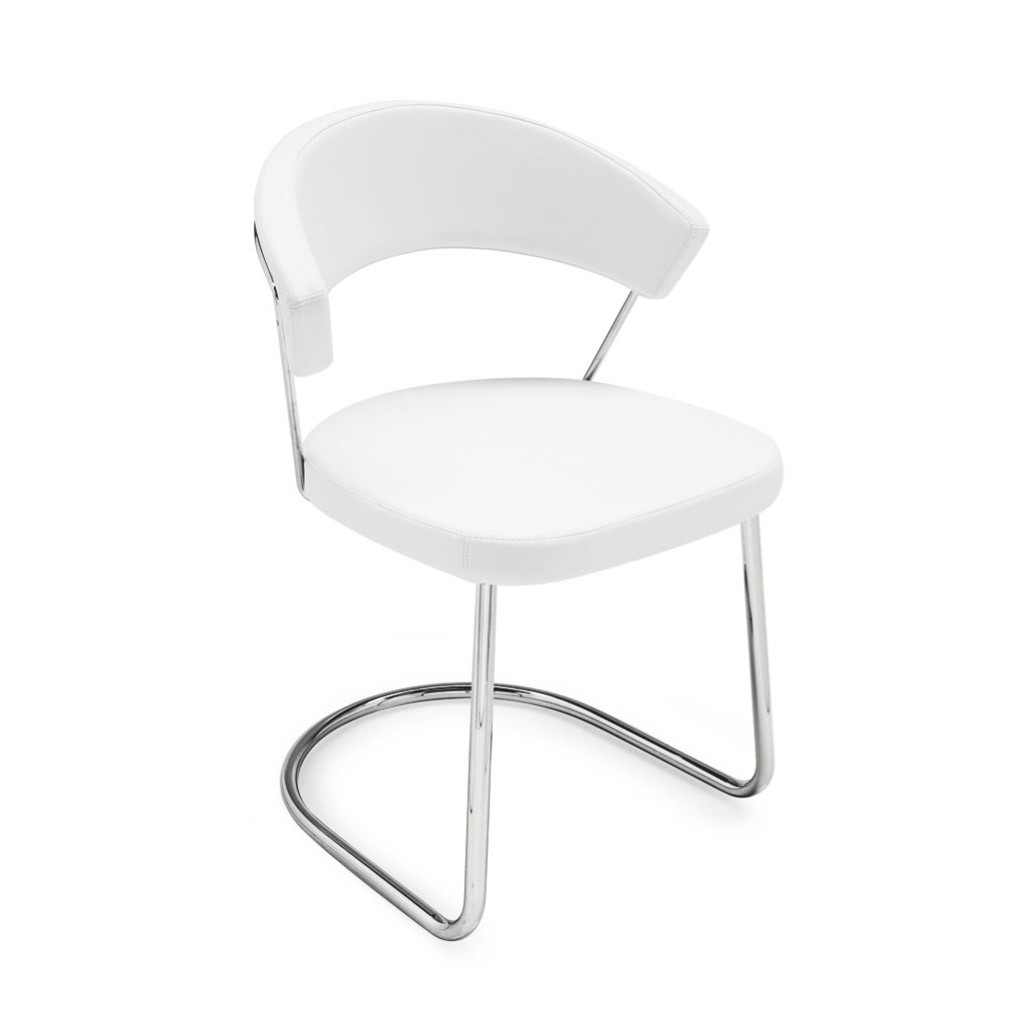 Connubia by calligaris sedia new york oscillante con for Sedia a dondolo oscillante
