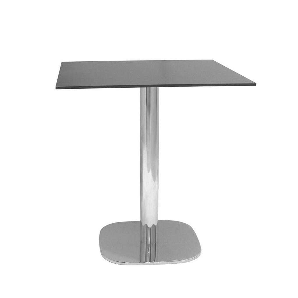 Vela arredamenti tavolo rounded per esterno con piano in for Tavolo esterno 80x80