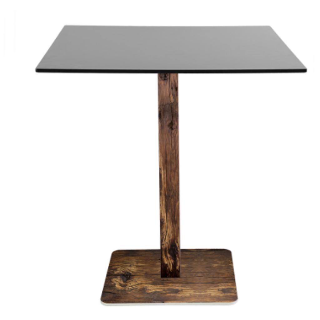 Vela arredamenti tavolo r30 con piano in nobilitato con for Vela arredamenti