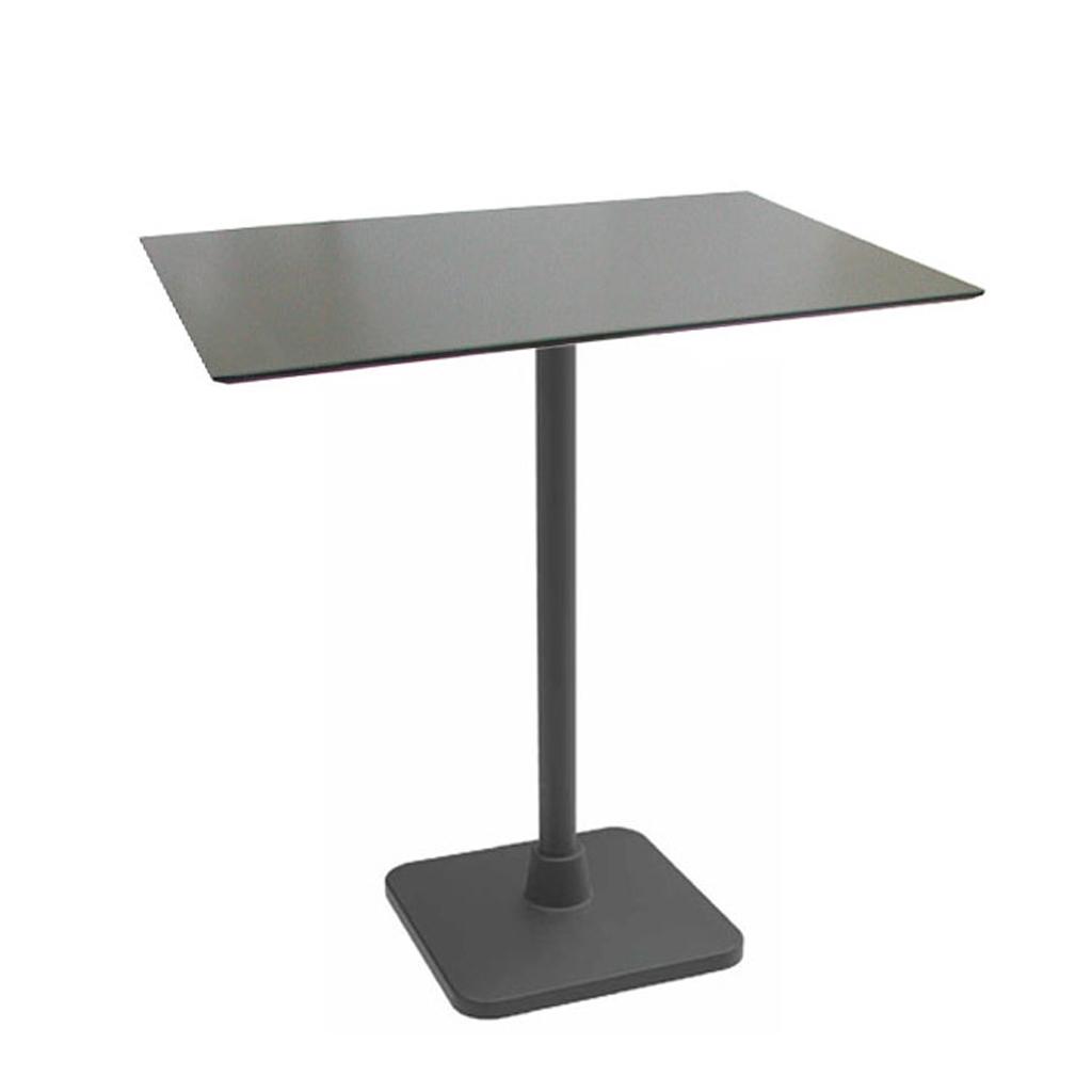 Vela arredamenti tavolo prime con base in ghisa nero e for Vela arredamenti