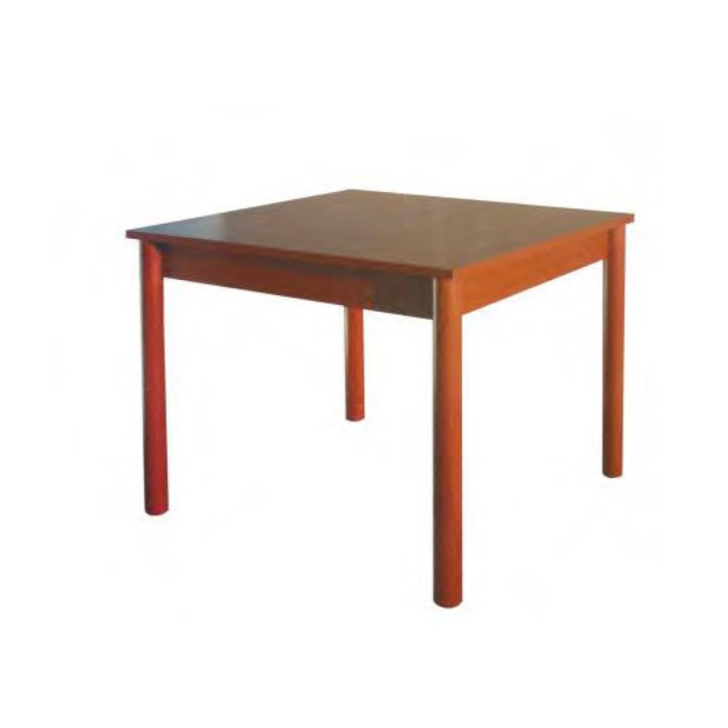 Sisa Tavolo quadrato 80x80 in legno cod. 7608