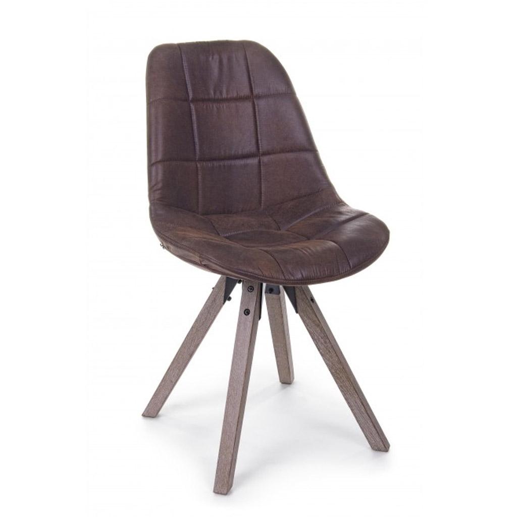 Bizzotto sedia armor foil con gambe in legno di quercia for Bizzotto arredamenti