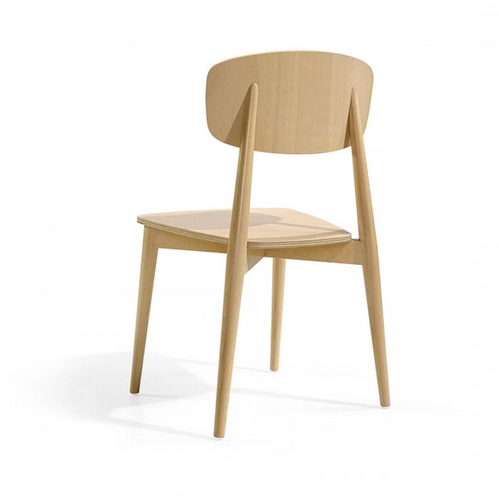 temahome sedia sally in legno per interno cod 7705. Black Bedroom Furniture Sets. Home Design Ideas