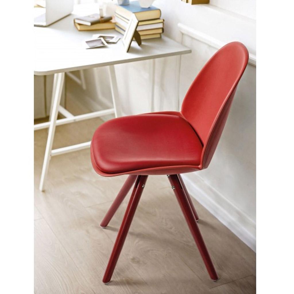 Bizzotto sedia chelsea con gambe in legno di quercia for Bizzotto arredamenti