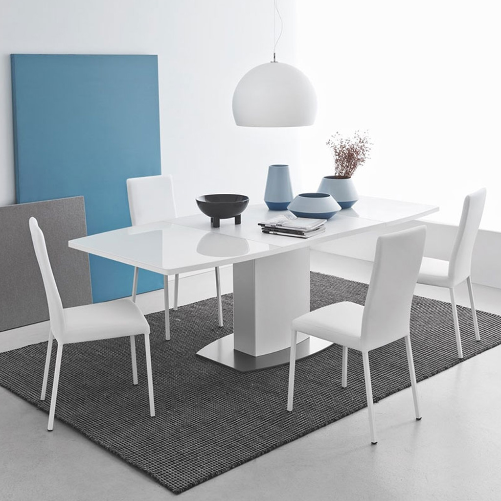 Connubia by calligaris tavolo athos allungabile cod 7202 for Calligaris tavolo vetro