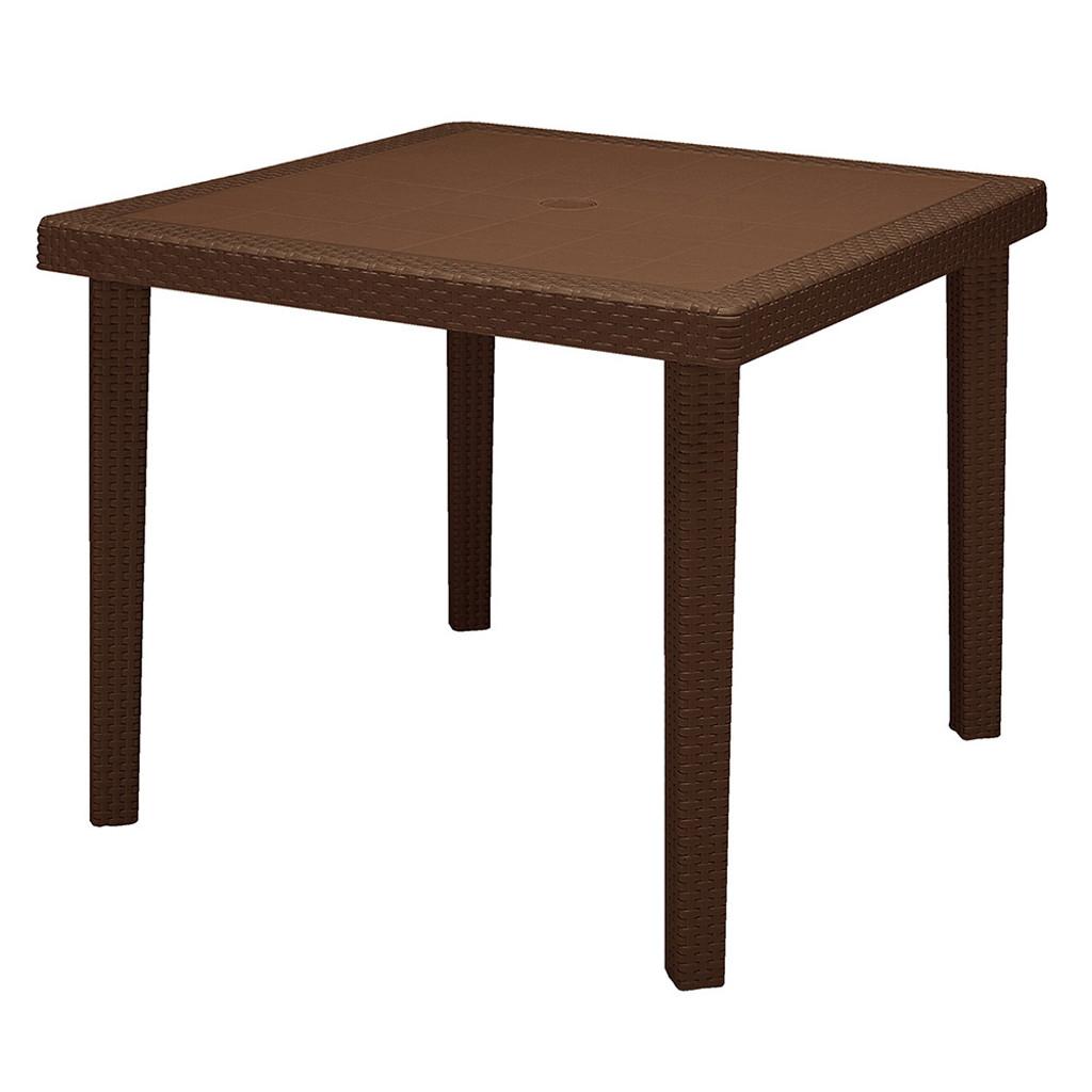 Grand soleil tavolo boheme 90x90 quadrato in polimero ecologico imballo da 12 pezzi cod 8449 - Tavolo allungabile grand soleil ...