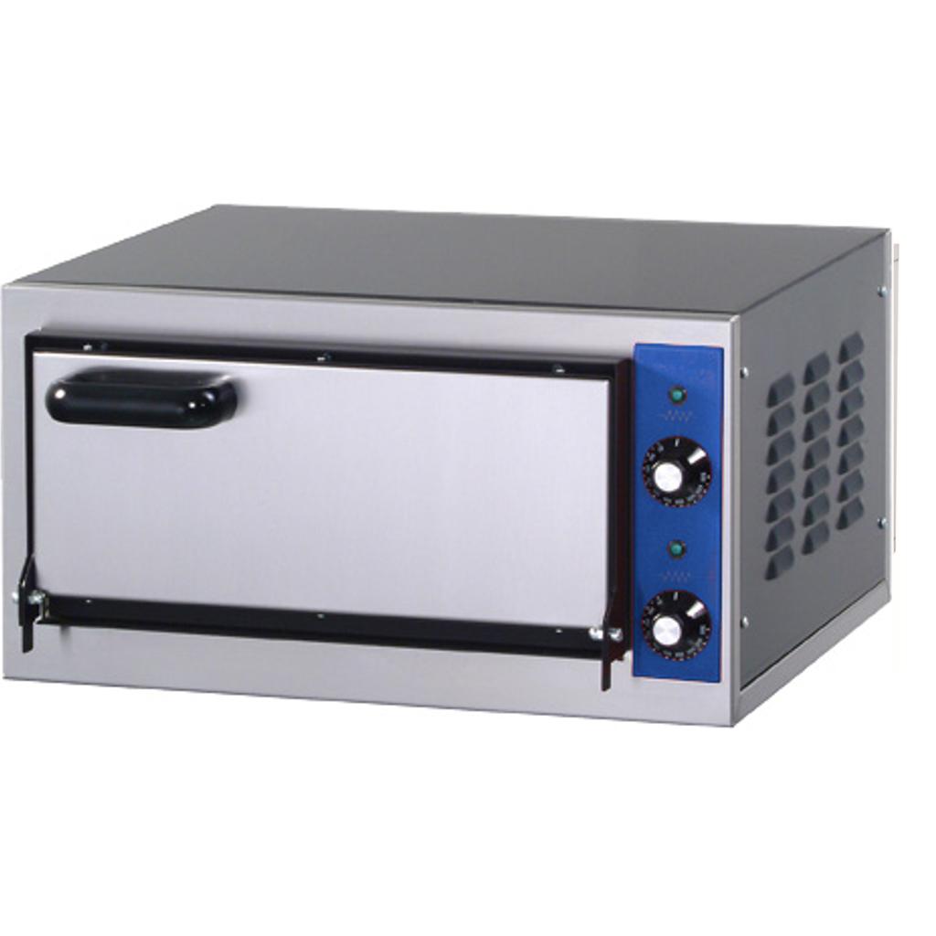 Amitek forno elettrico per pizza con porta in acciaio cod 5063 - Forno elettrico per pizze ...