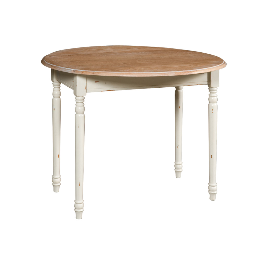 Arredo shabby tavolo tondo pieghevole decap shabby cod 6210 for Arredo shabby shop online