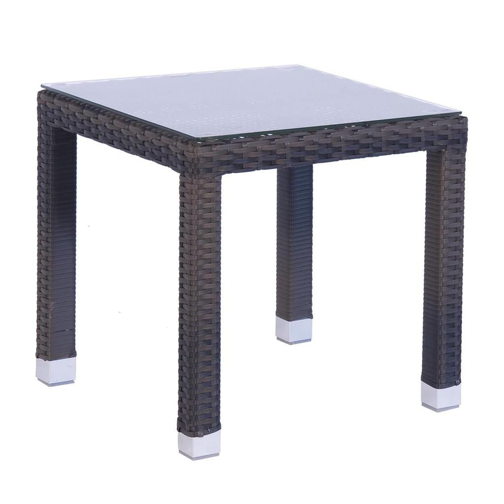 Bizzotto tavolino steps 45x45 con struttura in alluminio for Bizzotto arredamenti