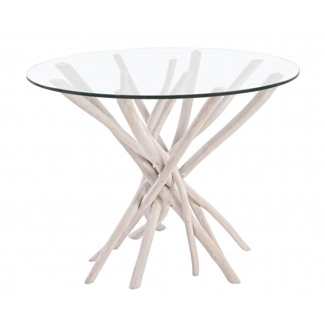 Bizzotto tavolino c vt sahel d110 vetro cod 5939 for Bizzotto arredamenti