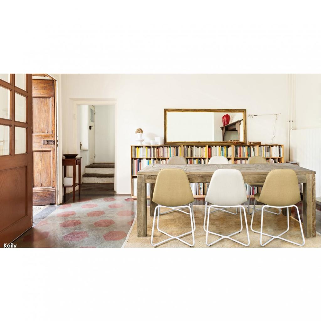 Bizzotto tavolo kaily 200x90 cm in legno di olmo riciclato for Bizzotto arredamenti