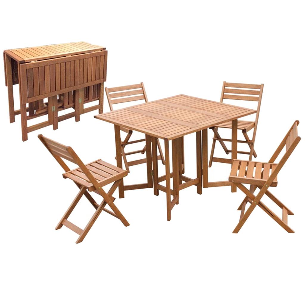 Tavolo Quadrato Con 4 Sedie.Emporio Grassi Set Pieghevole Tavolo Rettangolare Con 4 Sedie Cod 4271