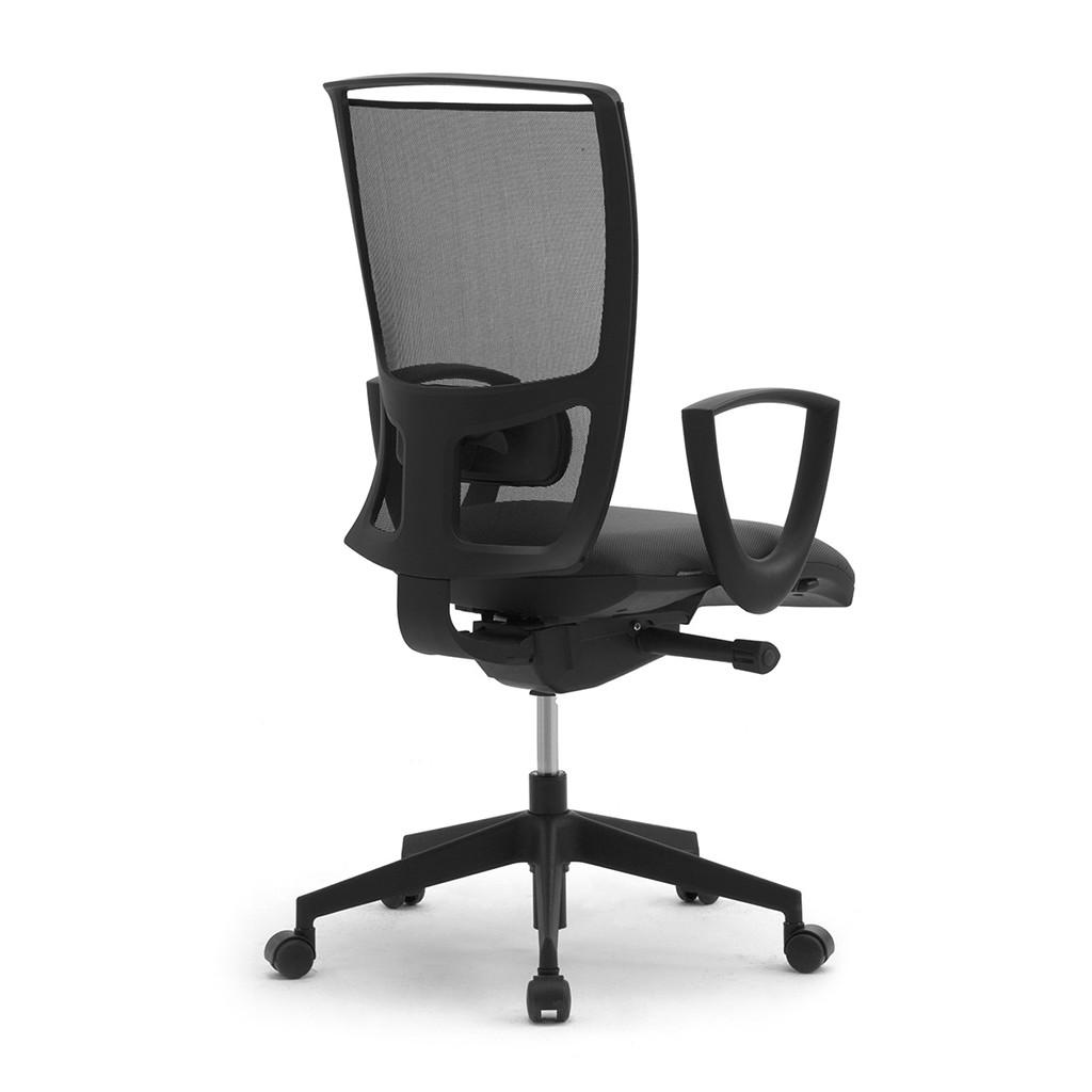 Leyform sedia da ufficio cometa con schienale in rete for Sedia ufficio alta