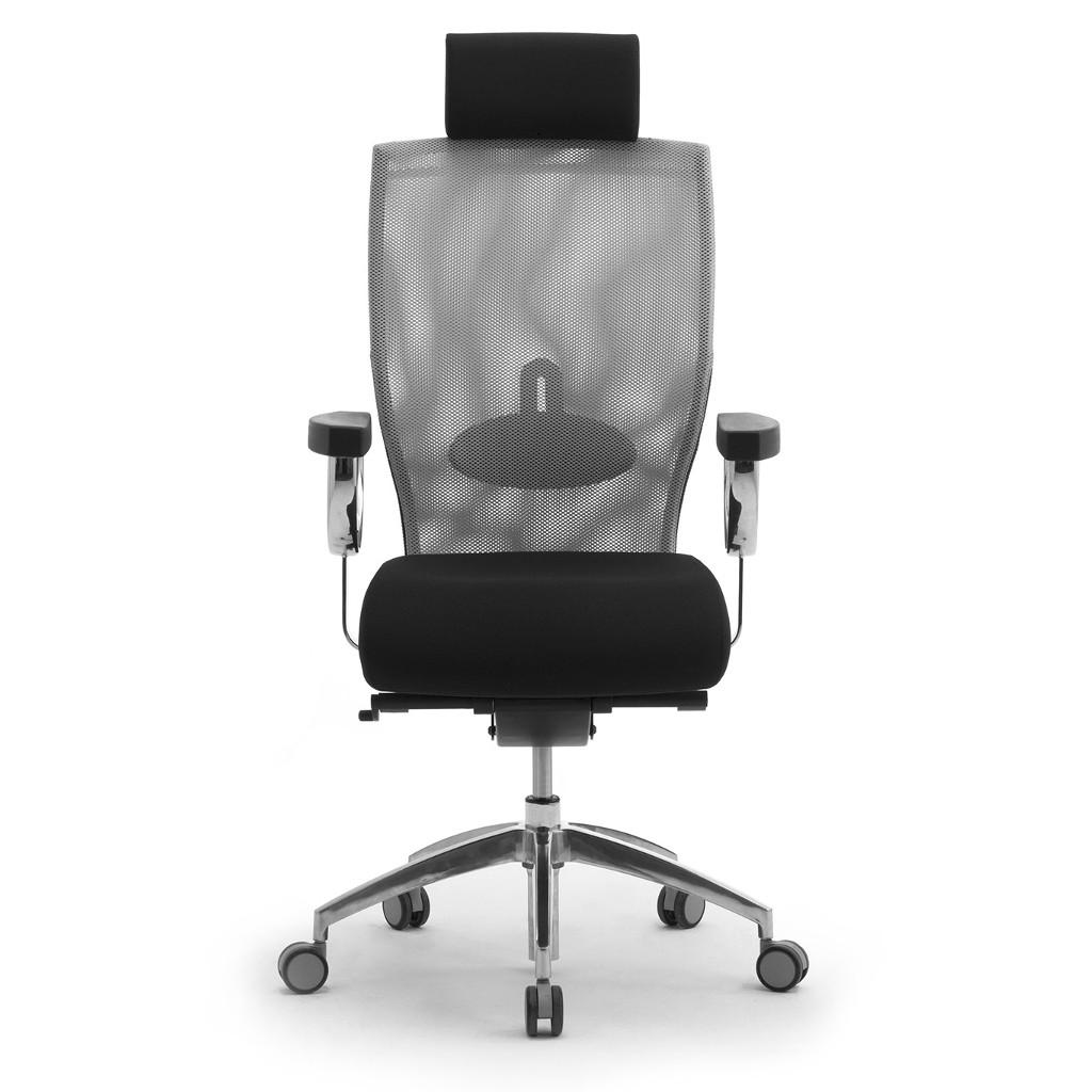 Leyform sedia da ufficio egolux con poggiatesta cod 3613 - Rivestire sedia da ufficio ...