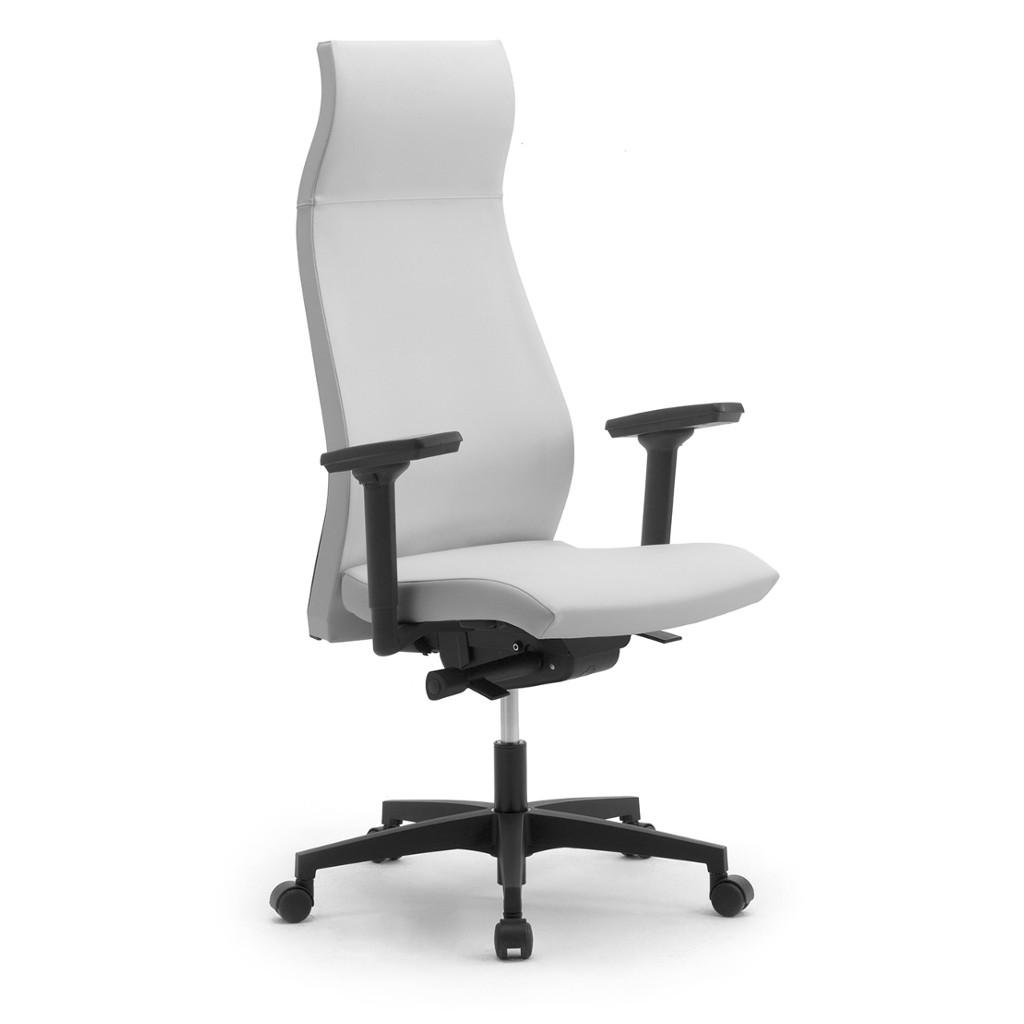 Leyform sedia da ufficio energy alta con braccioli for Sedia ufficio alta