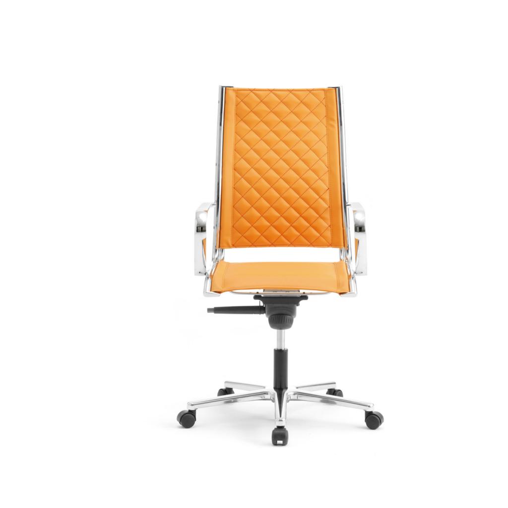 Leyform sedia da ufficio origami td alta con base in for Sedia ufficio alta