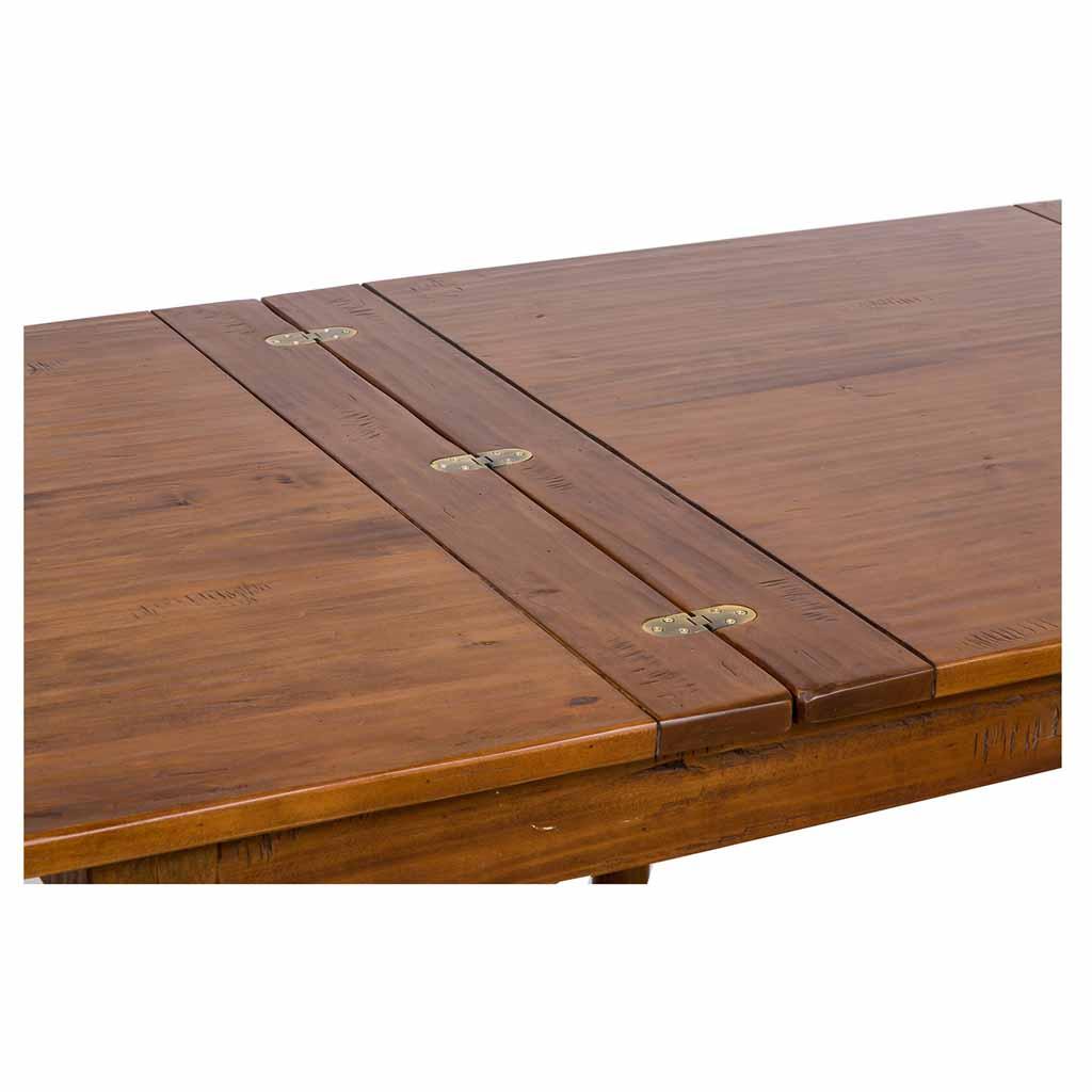 Tavolo Quadrato 120x120 Allungabile A Libro.Biscottini Tavolo Allungabile A Libro In Legno Massello Di Tiglio