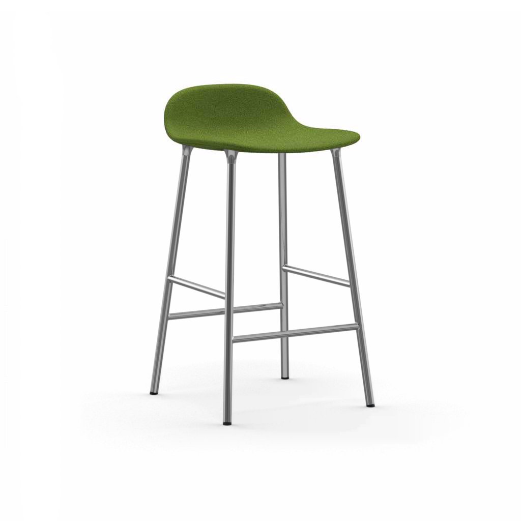 Normann copenhagen sgabello da bar form in tessuto fame for Normann copenhagen italia