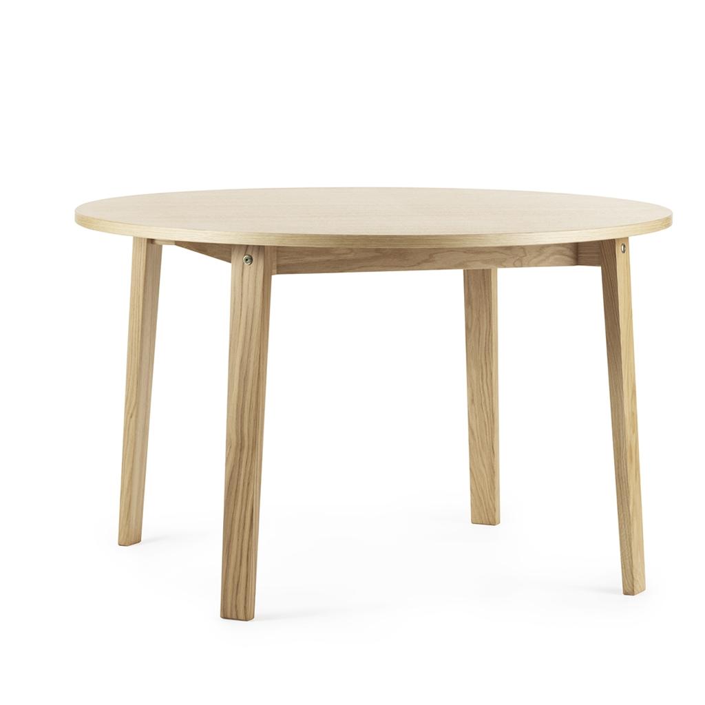 Normann copenhagen tavolo bridge tondo in rovere chiaro - Tavolo in rovere naturale ...