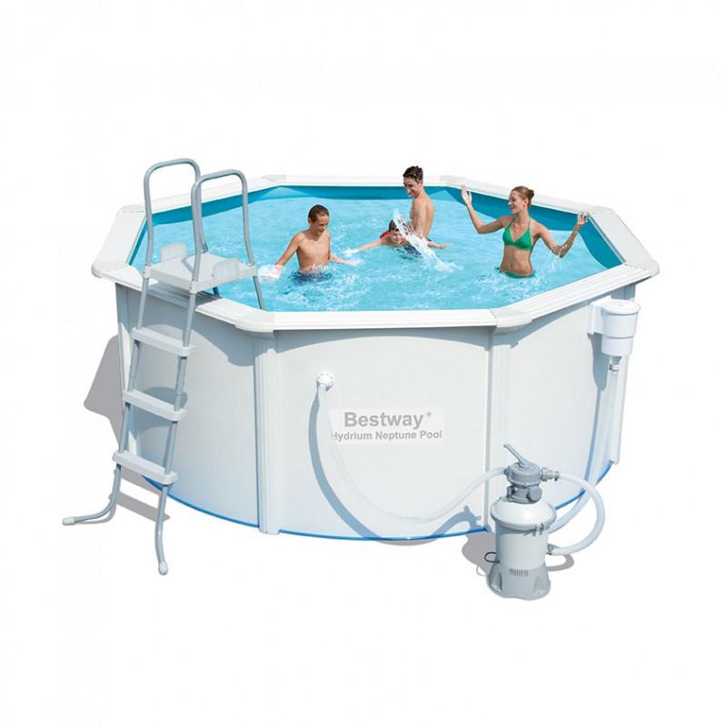 emporio grassi piscina steel wall pools 305 x h 122 cod 4405