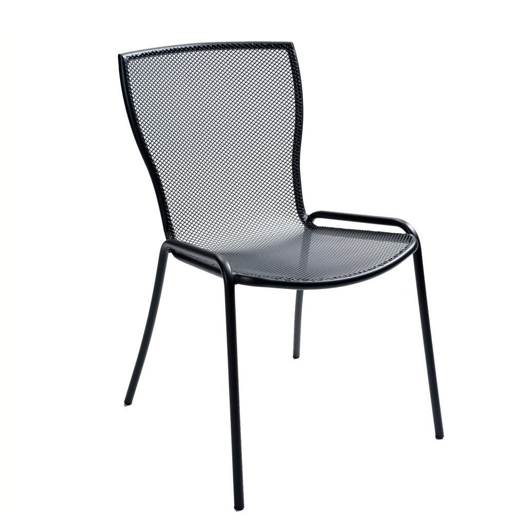 Rd italia sedia impilabile syrene 1 in acciaio per bar e for Arredi esterni per bar e ristoranti