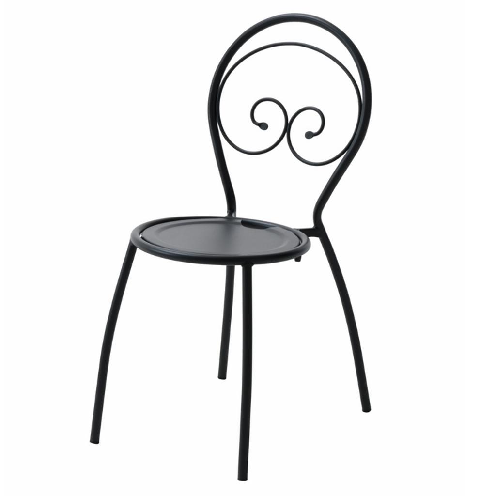 Rd italia sedia impilabile fiona 1 in acciaio per bar e for Arredi esterni per bar e ristoranti