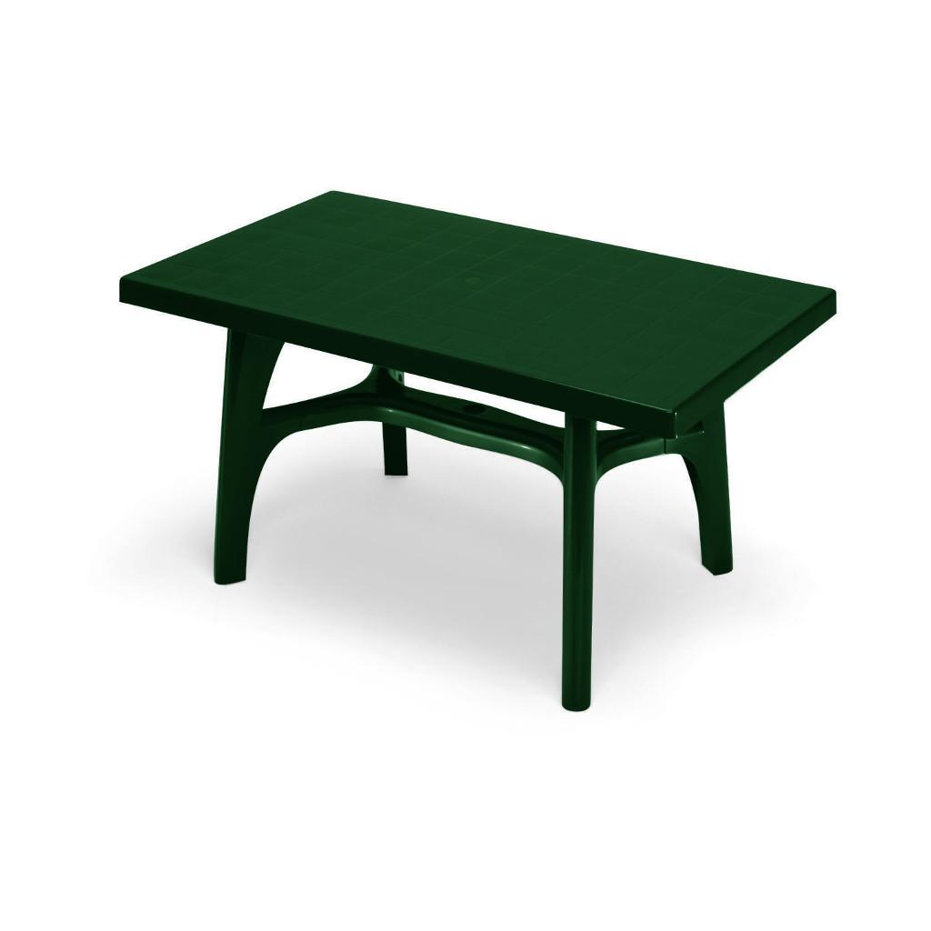 Scab design tavolo rettangolare contract in tecnopolimero for Tavolo rettangolare design