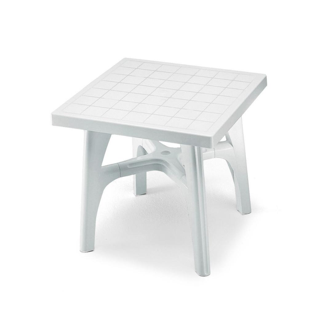 Scab design tavolo quadromax in tecnopolimero 80x80 cod 4330 for Tavolo esterno 80x80